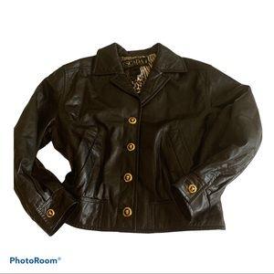 Escada Nappa leather jacket